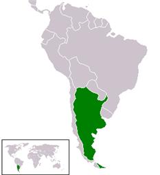 Argentina en América del Sur